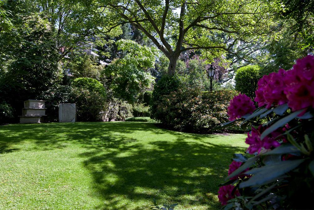 Innenarchitektur Einblick in den Garten