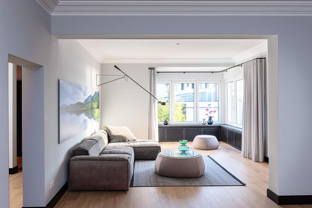 Wohnzimmer Innenarchitektur Düsseldorf Einrichtung