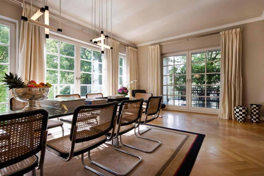 Innenarchitektur ein stilvoller Wohnbereich